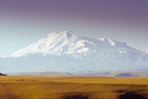 Mount Elbrus, Caucasus Mountains, Russia