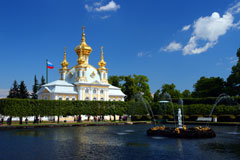 Petrodvorets, Saint Petersburg, Russia