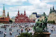 Red Square, Moscow, Russian Federation